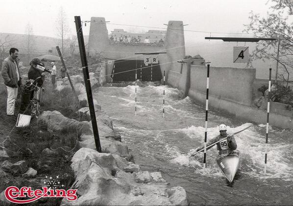 In 1983 werden de nationale kampioenschappen kanoslalom gehouden in de Piraña