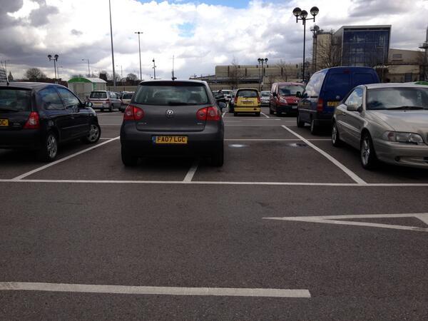FA07 LGC displaying crap parking