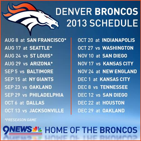 9news denver on twitter broncos 2013 schedule httpt 9news denver on twitter broncos 2013 schedule httptucieextjv5 broncos fans rt httptnt5thjvngm voltagebd Image collections