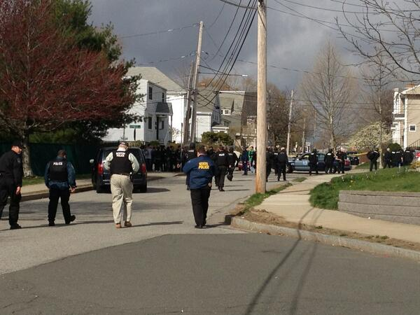 Evacuated for the 2nd time out of a house on oak st. Laurel st. is still off limits #mitshooting #mit #Boston http://pic.twitter.com/2kNVtes6Qt