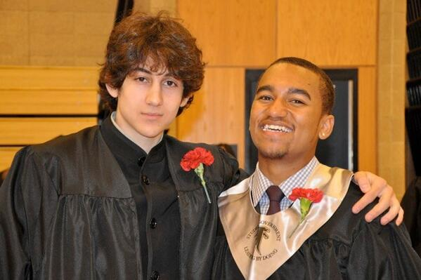 My beloved nephew on right, djohar tsarnaev on left, happy cambridge Rindge and Latin grads.heartbreaking pic.twitter.com/wCuNo8aApQ