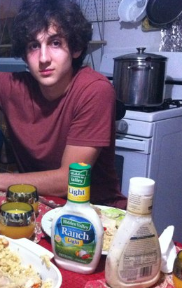 Photo: Another image of Dzhokhar Tsarnaev (friend cropped out), from his social network profile - http://pic.twitter.com/herIXfLc8q