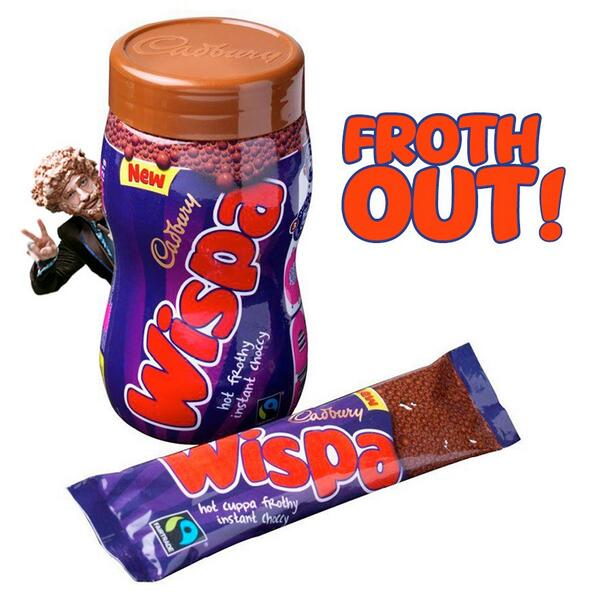 Want to #FrothOut like me??? RT+follow by 7pm to win a Wispa Hot Choc hamper. One lucky winner announced tomorrow... http://t.co/NbBgY1l2zC