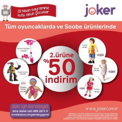 Joker 23 Nisan Çocuk Bayramı Kampanyası