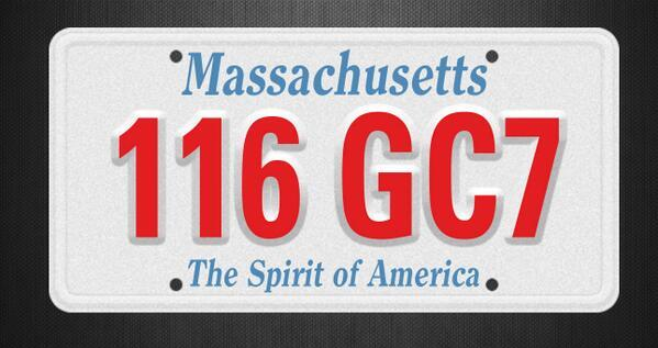 Twitter / ABC: Boston Police seeking MA Plate: ...