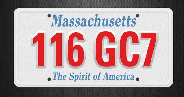 Twitter / ABC: Boston Police seeking MA Plate: ...