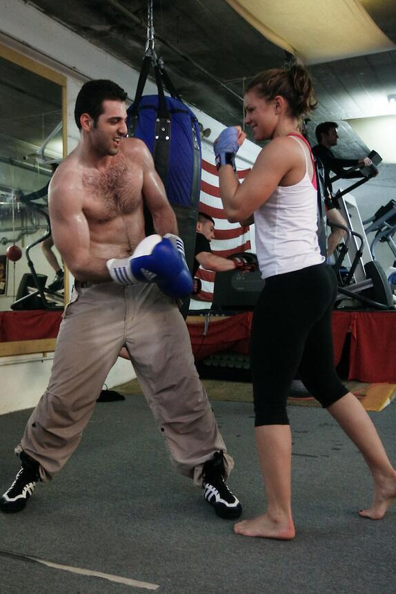 "Photo: suspected Boston Marathon bomber Tamerlan Tsarnaev boxing. ""I'm very religious."" bit.ly/15r2Dj4 pic.twitter.com/8vuIW4YEe7"