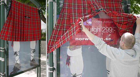 Ambient #marketing: ¡Las paradas de autobús también pueden ser divertidas! Fotos: marcandotendencia.wordpress.com/2013/02/28/amb… #publicidad pic.twitter.com/D9WAUh1GWP