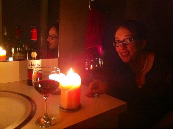 Whitney Wilkinson Arreche On Twitter Tornado Party In The Bathroom - Party in the bathroom