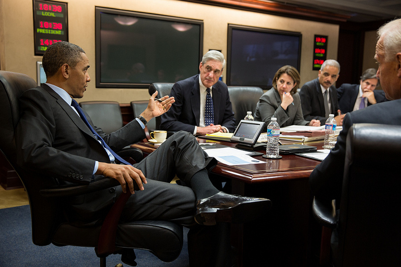 Twitter / ABC: White House photo of President ...
