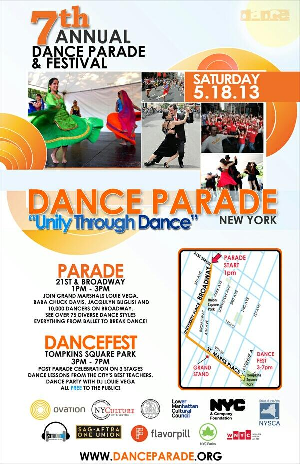 Twitter / DanceParadeNYC: Official 2013 poster! ...