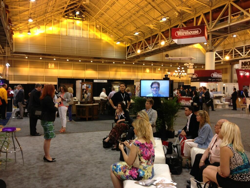 Twitter / KBIS2013: Great shot of @meredithheron ...