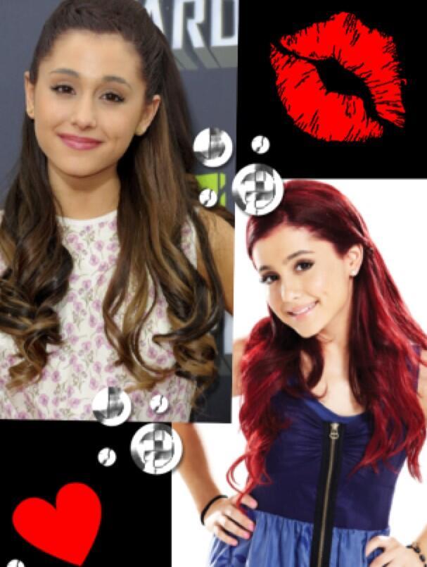 Amy Amy Ariana Grande Brown Hair Vs Red Hair | Auto Design ...
