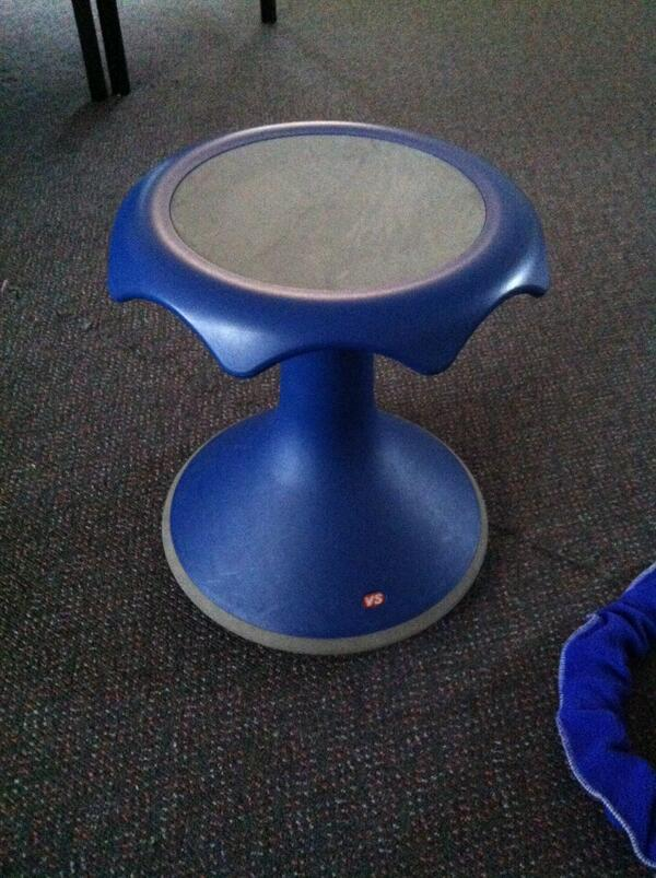 "Nicole Stojanovski on Twitter ""This wobble chair has"