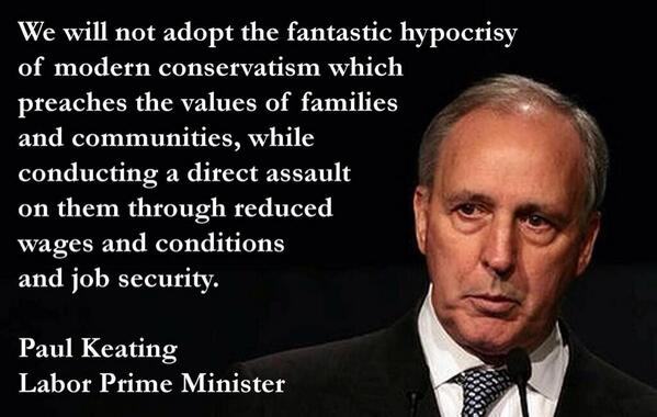 A real Prime Minister. Full stop. @AngelaLoRosso: This from former PM Paul Keating. Open your eyes. #auspol http://t.co/Isf18hbJba