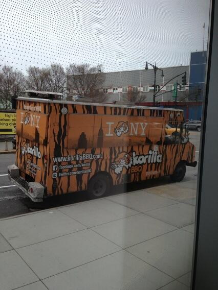 First food truck sighting! #TFIi pic.twitter.com/wqwaM03E1J