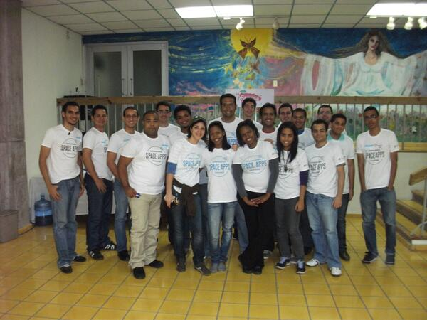 Check out #SpaceApps #SantoDomingo -- awesome work! RT @raydelto: #spaceapps Santo Domingo Participants pic.twitter.com/UjBDquXYXy