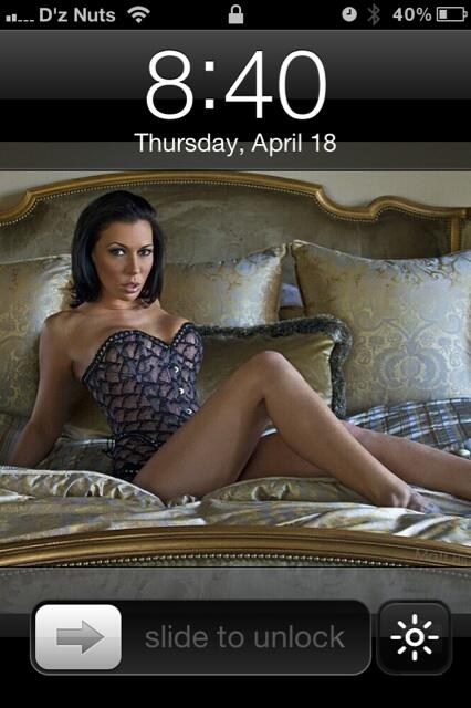 All day see @RachelStarrxxx... Phone lock screen,