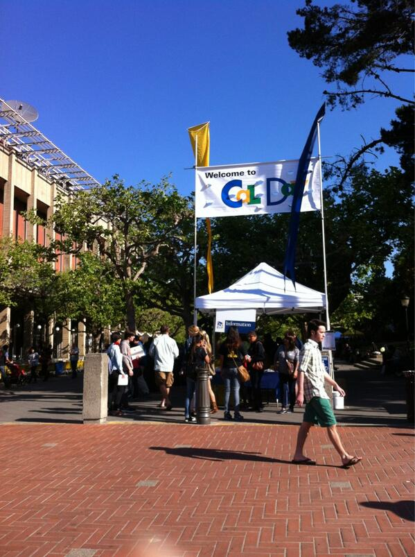 And the fun at Cal begins! #sharecalday #ucberkeley #calday #weekend pic.twitter.com/CDyvEE2QxB