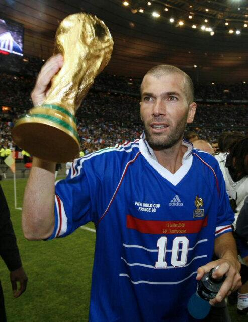 Zinedine zidane zidaneofficial twitter - Zidane coupe du monde 1998 ...