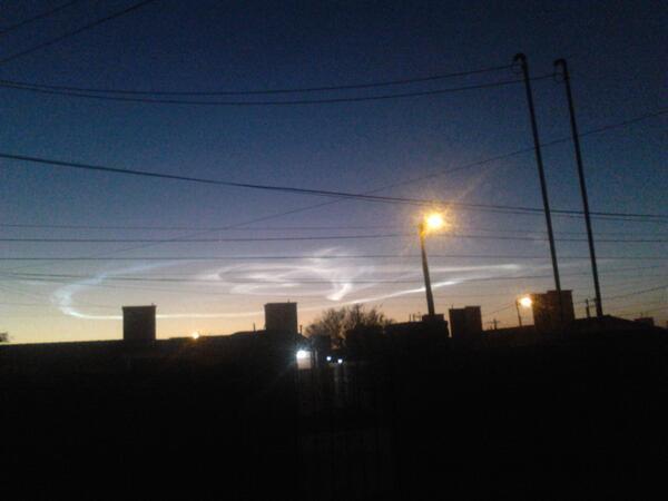 Otra foto del #MeteoritoEnSantiago pic.twitter.com/fYLs00UmdM