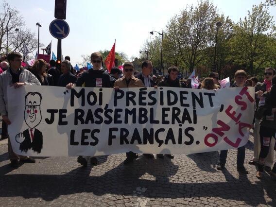 La France assassinée par la gauche et une bande d'écervelés.