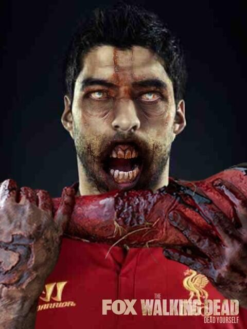 Joke Pictures Part II: Luis Suarez continues to get pilloried for eating Branislav Ivanovic