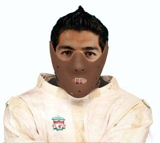 Photoshoppers get to work on Luis Suarez after bite on Branislav Ivanovic