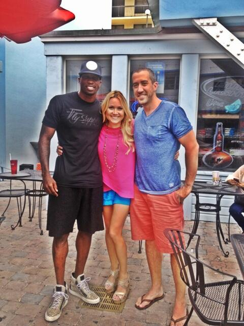 Twitter / ochocinco: Just met the new couple ...