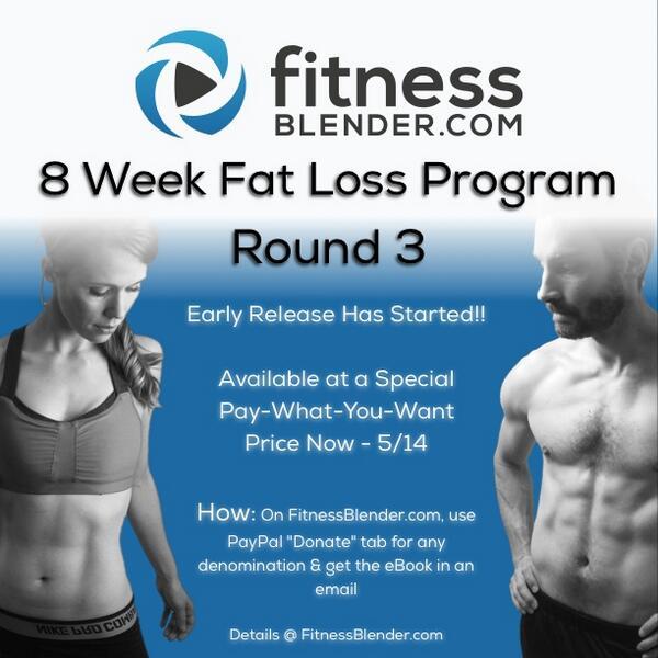 fitness blender 8 week fat loss