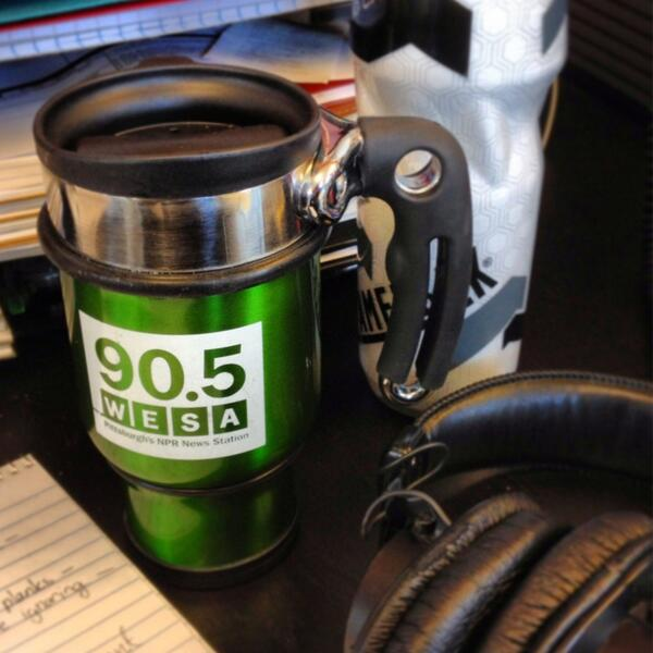 Ok trying again. Kicking off #nprcoffeeweek with some joe from my @905wesa mug! #pghcoffee pic.twitter.com/QEYQAPP1Sp
