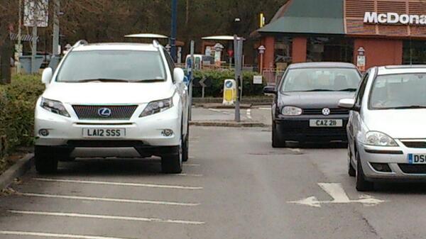 LA12 SSS displaying Selfish Parking