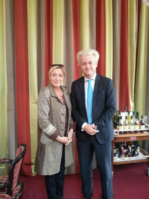 Marine Le Pen and Wilders
