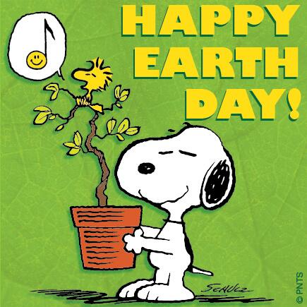 """Happy Earth Day Images peanuts on twitter: """"happy earth day! #earthday :) http://t.co"""