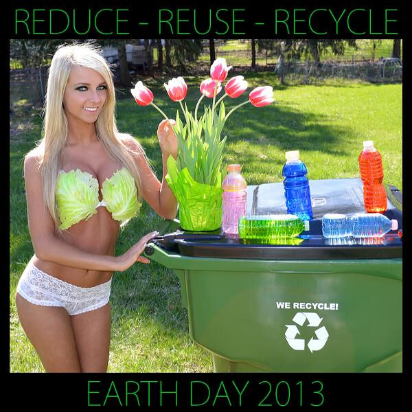 Show you support for #EarthDay by retweeting this pic! @PlayboySocial #playboymisssocial