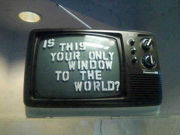 Image result for television window to the world