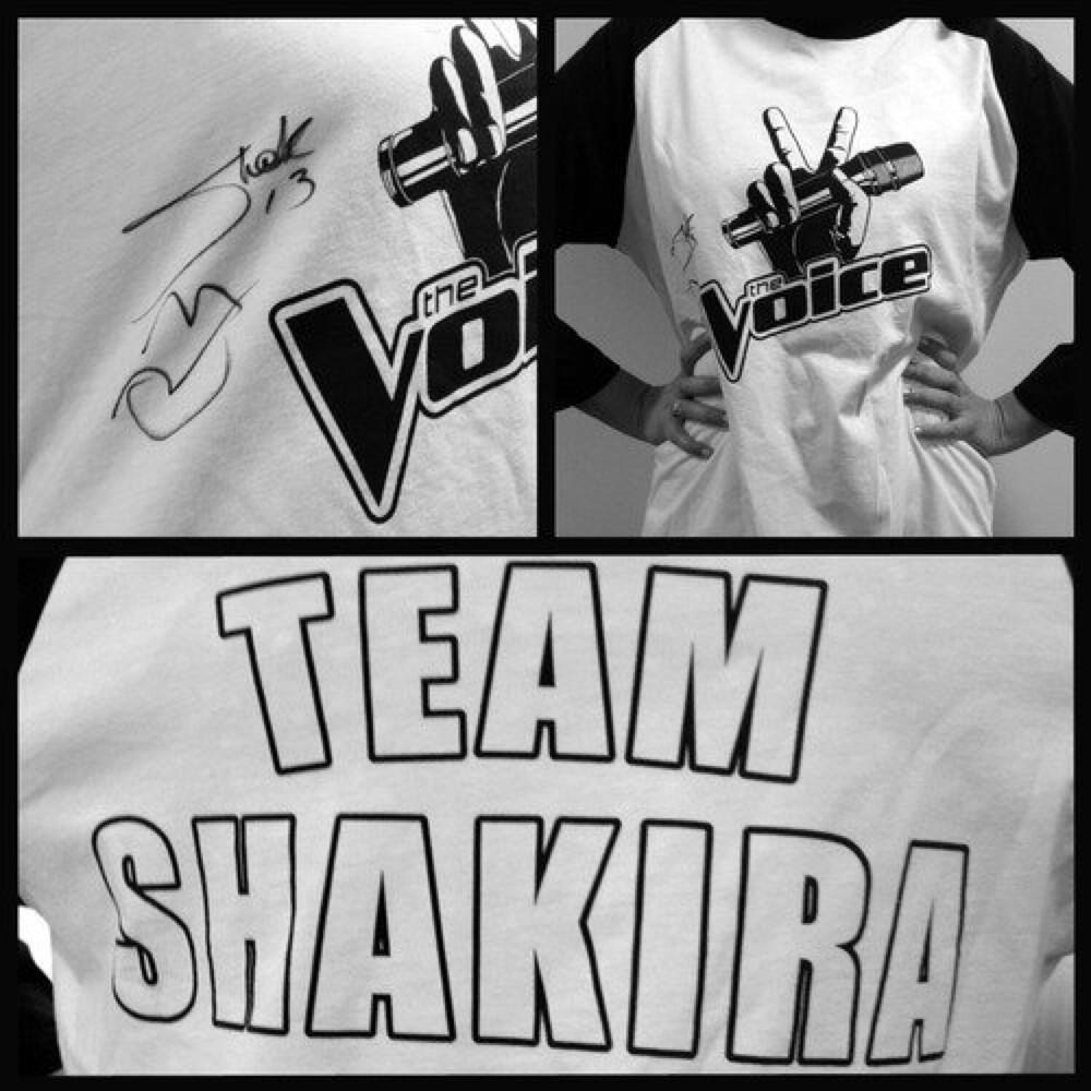 Twitter / ShakirasSmile: @NBCTheVoice @shakira Dream ...
