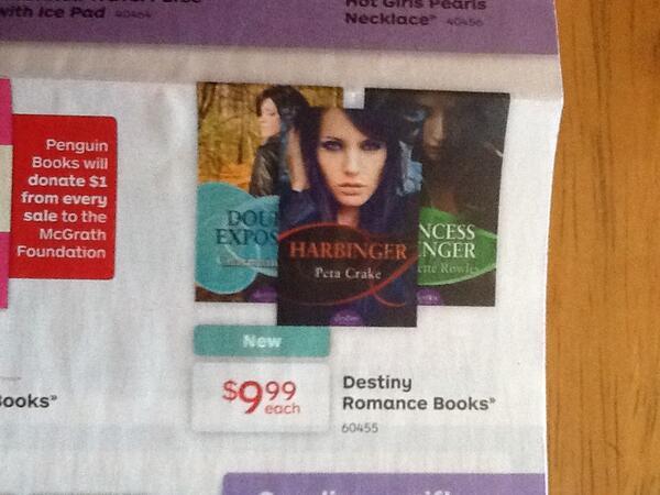 harbinger destiny romance crake peta