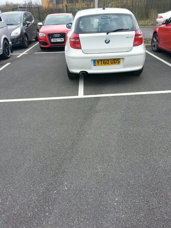 YT60 UDS displaying crap parking