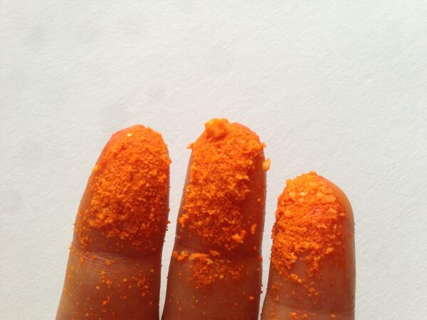 cheeto fingers on ChezGigi.com