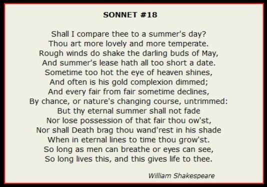 shakespeare sonnet 18 dansk