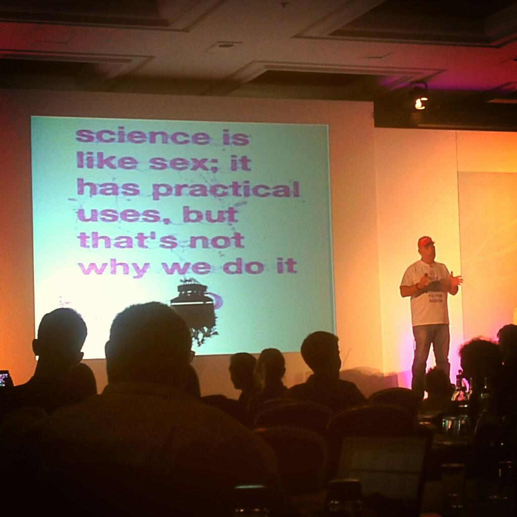 Twitter / Lyanba: Science is like sex because... ...