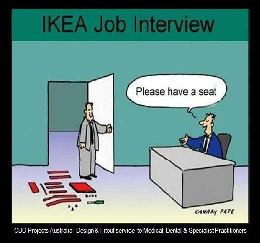 Ikea Cartoon Job Interview