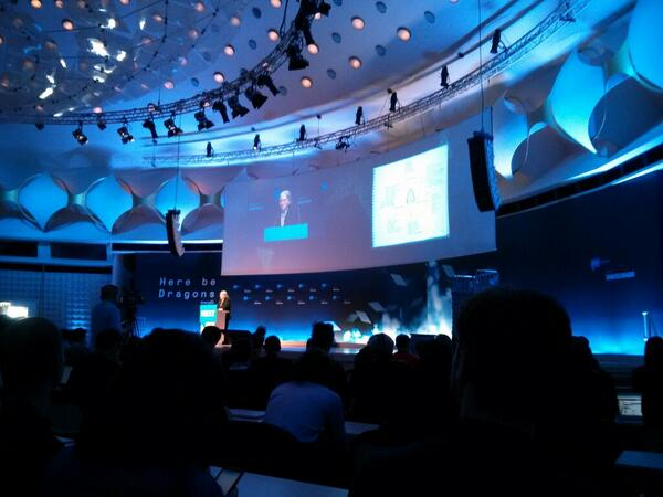 Fantasy prototypes and real disruption. @bruces at #NEXT13 pic.twitter.com/dE51Qbzbwa