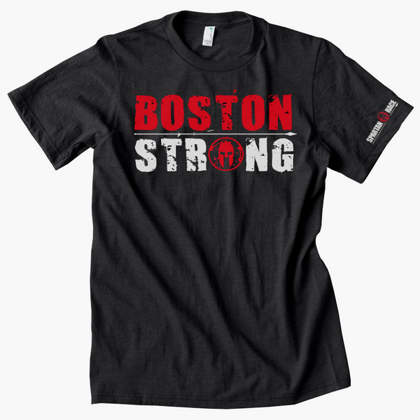 Spartan race on twitter help us support those affected for Boston strong marathon t shirts
