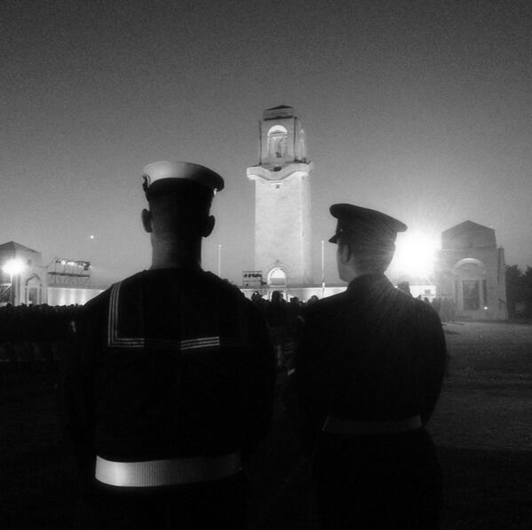Remembering at Villers-Bretonneux #ANZAC #ANZACDay http://pic.twitter.com/KrUEMnt9RJ