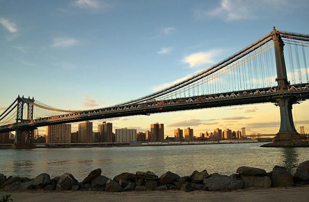 Twitter / gigi_nyc: View from the Brooklyn Bridge ...