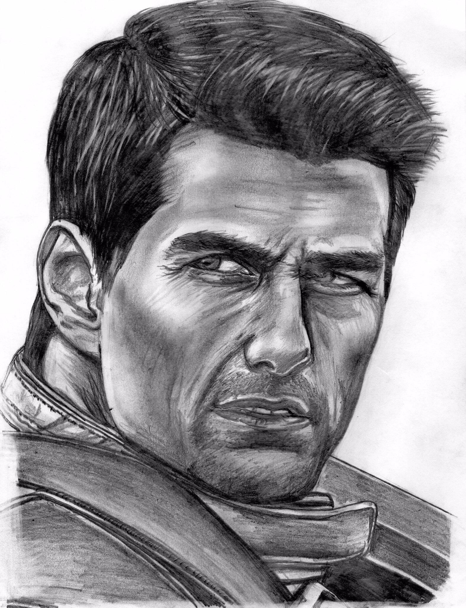 Twitter / TomCruise: Awesome drawing of Tom as ...