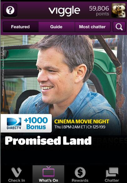 Twitter / DIRECTV: Tonight watch #PromisedLand ...