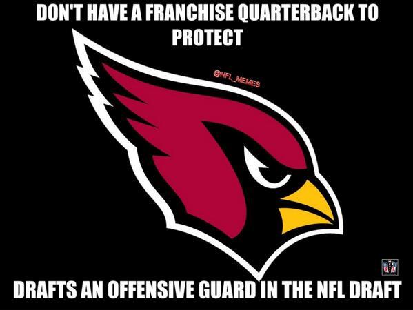 Nfl Memes On Twitter Arizona Cardinals Logic Httptcobfgh2tpdai